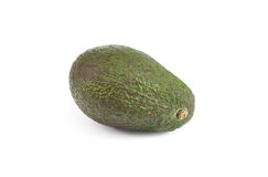 Avocado on white Royalty Free Stock Photos