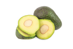 Avocado on white Royalty Free Stock Photo