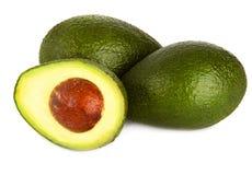 Avocado on white Royalty Free Stock Photos