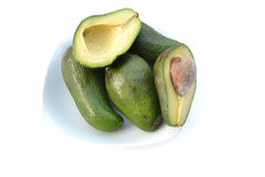 Avocadoes Stock Photography
