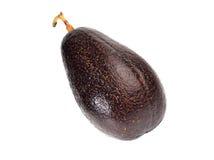 Avocadofruit op een witte achtergrond wordt geïsoleerd die Stock Foto's