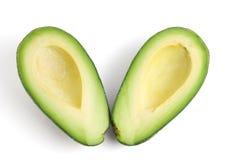 Avocadohälften Lizenzfreies Stockbild