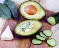 Avocadoimbiß Lizenzfreies Stockfoto