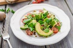 Avocadon sałatka zdjęcie stock