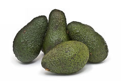 avocados cztery Zdjęcia Royalty Free