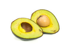 Avocados getrennt Stockfotos