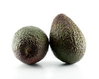 Avocados isolated Stock Photos