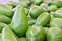 Avocados on street market stall Royalty Free Stock Photos