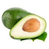 Avocados on white Royalty Free Stock Photos