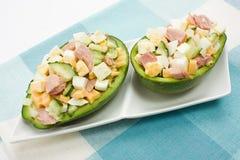 Avocadosalat Stockbilder
