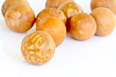 Avocadosamen auf Tabelle Stockbilder