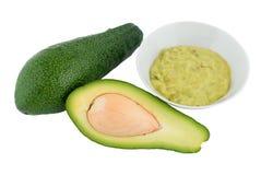 Avocat et guacamole Photographie stock libre de droits