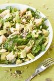 Avocat et salade de poulet Photos stock