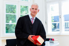 Avocat plaidant à son cabinet d'avocats Photo libre de droits