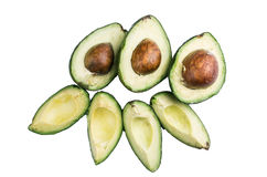 Avocatto on a white background Stock Image
