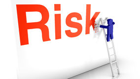 Avoid risk by elimination Stock Photo