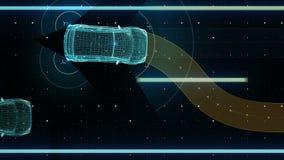 Avoiding collisions, Lane departure prevention, Autonomous vehicle, Automatic driving technology. Unmanned car, IOT connect car. X
