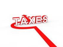 Avoiding taxes Stock Image