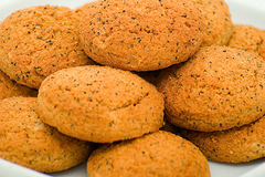 avoine de biscuits Photos stock