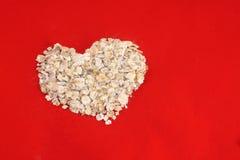 avoine de coeur Images libres de droits