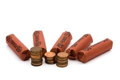Avoir beaucoup de modification de rechange d'argent Images stock