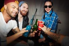 Avoir des boissons Image stock