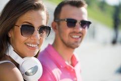 Avoir le week-end dans le parc d'été Photographie stock libre de droits