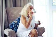 Avoir sa pause café quotidienne Photos libres de droits
