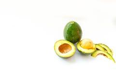 avokado klippt ny hälft Royaltyfri Fotografi