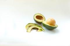 avokado klippt ny hälft Royaltyfria Foton