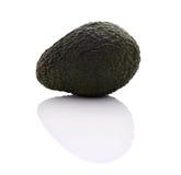Avokadofrukt med vit bakgrund fotografering för bildbyråer