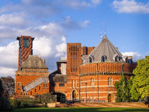 Avon的皇家莎士比亚剧院斯特拉福 库存图片