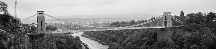 Avon Clifton Suspension Bridge Royaltyfri Bild