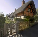 avon england stratford warwickshire Royaltyfri Bild