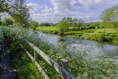 avon flod Royaltyfria Bilder
