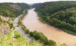 Avon Gorge Royalty Free Stock Image