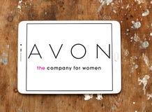Avon logo Stock Image