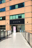 Avon Store. An Avon store in Santiago, Chile.  Avon is a manufacturer and distributor of beauty, household, and personal care products sold in over 140 countries Stock Photos