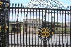 Avond Londen Stadslandschap van historische districten Royalty-vrije Stock Fotografie