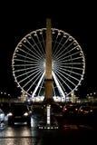 Avond Parijs 5 Royalty-vrije Stock Afbeeldingen
