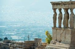 Avondlandschap in Korfu, Griekenland Stock Afbeelding