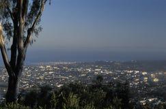Avondmening van Santa Barbara, Californië stock foto's