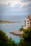 Avondstraten van Mallorca Stock Fotografie