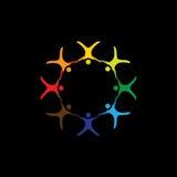 Avonturenactiviteit die van het drijven, in lucht glijden - grafische vector Royalty-vrije Stock Afbeeldingen