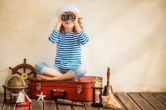 Avontuur en reisconcept Royalty-vrije Stock Foto