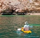 Avontuur Kayaking stock fotografie