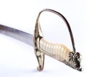 Avorio e spada Immagini Stock