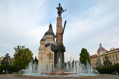 Avram Iancu at Cluj Napoca Square Royalty Free Stock Image