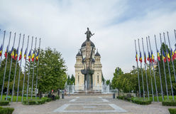 Avram Iancu Cluj Napoca Square Royalty Free Stock Photos