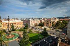 Avram Iancu Square Lizenzfreies Stockfoto